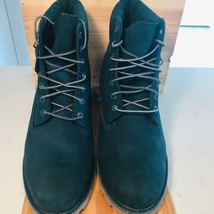 MENS TIMBERLAND LIMITED RELEASE GREEN JADE BOOT